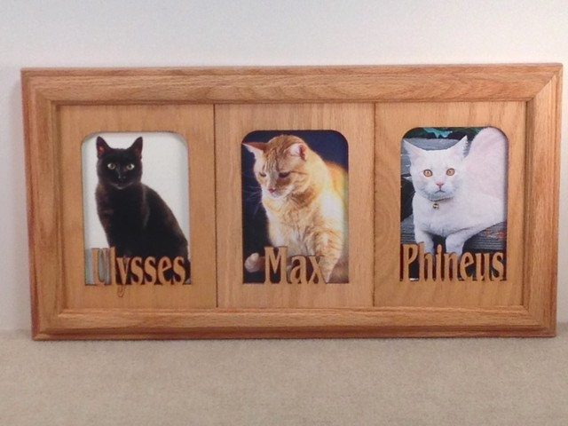 Original Name Frames - Personalized oak frames for all occasions